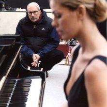 Vanessa Incontrada e Maurizio Sciarra sul set del film Quale amore