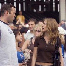 Jennifer Aniston e Vince Vaughn in una scena della commedia Ti odio, ti lascio, ti...