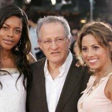 Naomie Harris, Michael Mann e Elizabeth Rodriguez alla premiere di Miami Vice a Los Angeles