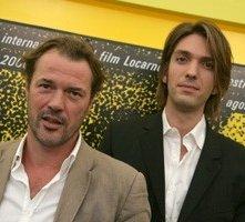 Locarno 2006 - Sebastian Koch, attore e Max Wiedemann, produttore del film DAS LEBEN DER ANDEREN