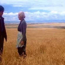 Jeff East e Phyllis Thaxter in una scena di SUPERMAN