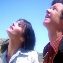 Margot Kidder e Marc McClure in una scena di SUPERMAN