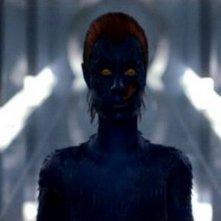 Rebecca Romijn in una scena di X-MEN