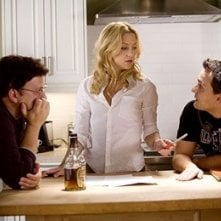 Anthony e Joe Russo con Kate Hudson sul set di Tu, io e Dupree