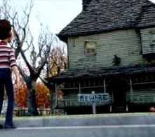 Una scena di Monster House