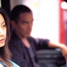 Jo Jae-hyeon e Seo Won in una scena di Bad Guy