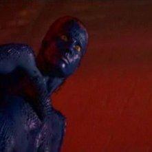 Rebecca Romijn-Stamos in una scena di X-MEN