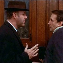 Gene Hackman e Roy Scheider in una scena di IL BRACCIO VIOLENTO DELLA LEGGE