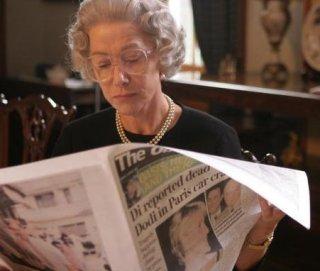 Helen Mirren nei panni di Elisabetta II in The Queen