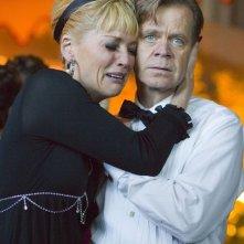 Sharon Stone e William H. Macy in una scena di Bobby