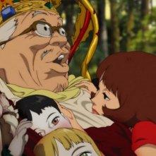Una scena del film d'animazione Paprika