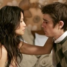Josh Hartnett con Lucy Liu in Slevin - Patto criminale