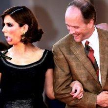 Sandra Bullock e il regista Douglas McGrath a Venezia 2006 per presentare Infamous