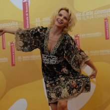 Juliette Binoche a Venezia 2006 per presentare il film Quelques jours en Septembre