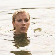 Scarlett Johansson in una scena di Scoop