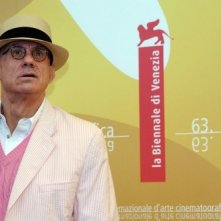 Lo scrittore James Ellroy a Venezia 2006 per presentare The Black Dahlia
