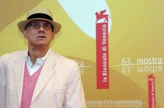 Lo scrittore James Ellroy a Venezia 2006 per presentare The Black Dahlia