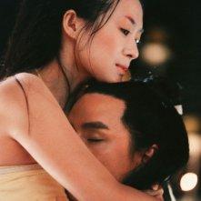 Zhang Ziyi e Daniel Wu in una sequenza del film The Banquet