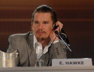 Ethan Hawke a Venezia 2006 per presentare il film The Hottest State