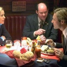 Maria Bello, David Koechner e Aaron Eckhart in Thank You for Smking