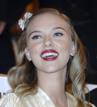 Scarlett Johansson a Venezia 2006 per presentare The Black Dahlia di Brian De Palma