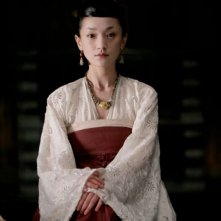 Zhou Xun in una scena del film The Banquet