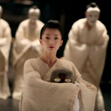 Una suggestiva scena di The Banquet, con Zhou Xun