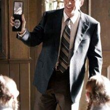 Nicolas Cage in una scena del film The Wicker Man - Il prescelto