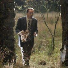Nicolas Cage in una scena del film The Wicker Man