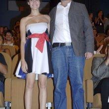 Venezia 2006: Hermila Guedes e Karim Aïnouz alla premiere di SUELY IN THE SKY