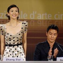 Venezia 2006: Zhang Ziyi e Daniel Wu presentano The Banquet