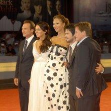 Christian Slater, Lindsay Lohan, Svetlana Metkina. Freddy Rodriguez e Emilio Estevez a Venezia 2006 per presentare il film di Bobby