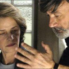 Gianni Amelio e Charlotte Rampling sul set de Le chiavi di casa