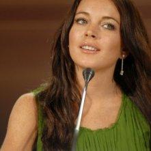 Lindsay Lohan a Venezia 2006 per presentare il film di Bobby