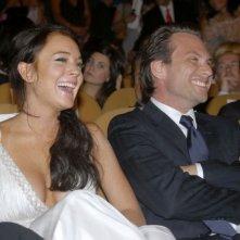 Lindsay Lohan e Christian Slater a Venezia 2006 per presentare il film di Bobby