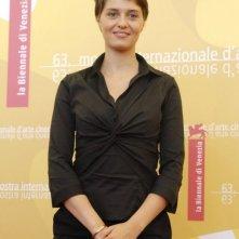Paola Cortellesi a Venezia 2006 per presentare Non prendere impegni stasera