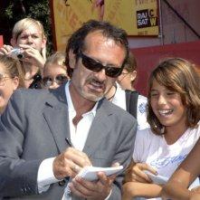 Rocco Papaleo a Venezia 2006 per presentare Non prendere impegni stasera