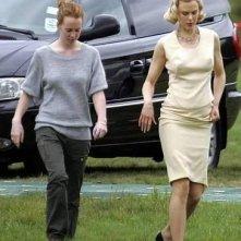 Nicole Kidman sul set de La bussola d'oro