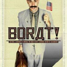 La locandina di Borat