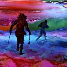 Tatsuya Nakadai in una splendida scena di KAGEMUSHA - L'OMBRA DEL GUERRIERO