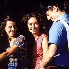 Elio Germano, Valeria Golino e Filippo Pucillo  in una scena del film Respiro