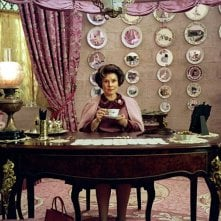 Imelda Staunton in una sequenza di Harry Potter e l'Ordine della Fenice