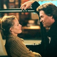 Kurt Russell ed Elisabeth Shue in Dreamer - La strada per la vittoria