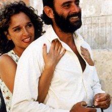Vincenzo Amato e Valeria Golino in una scena del film Respiro