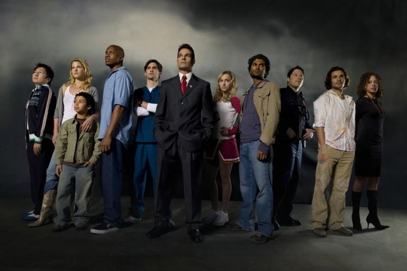 Il cast di 'Heroes' in un'immagine promozionale