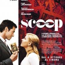 La locandina italiana di Scoop