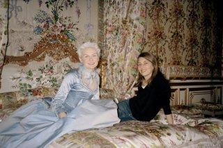 Sofia Coppola e Kirsten Dunst sul set di Marie-Antoinette