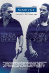 La locandina italiana di Miami Vice