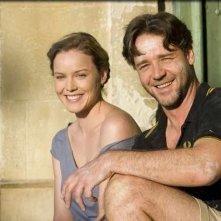 Russell Crowe e Abbie Cornish in una scena del film A Good Year