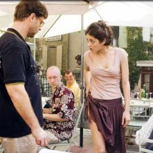 Russell Crowe con Marion Cotillard in una scena del film A Good Year